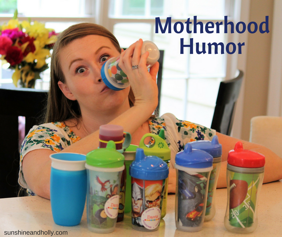 motherhood humor | sunshineandholly.com